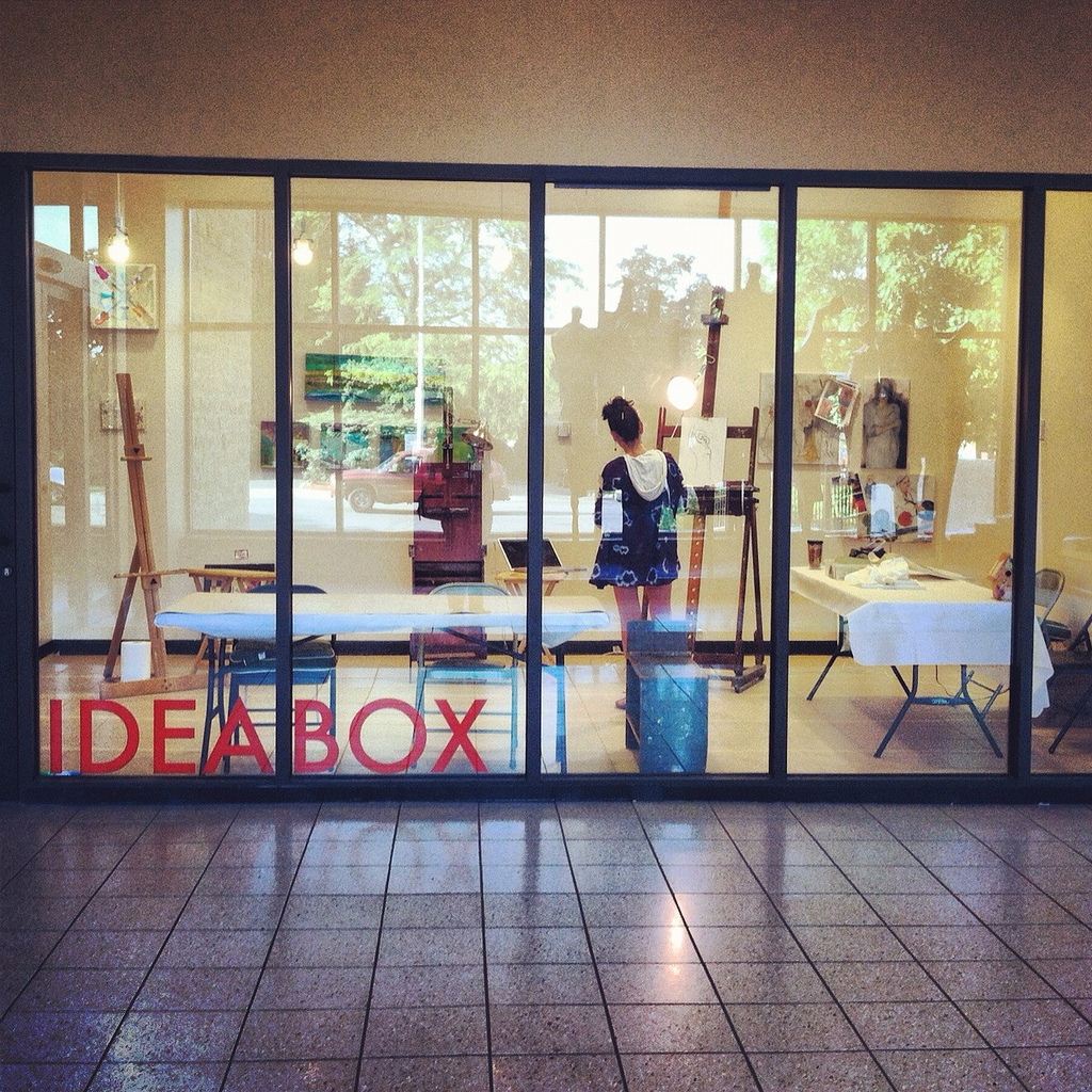 The library as incubator project wants you to look at for Library painting ideas
