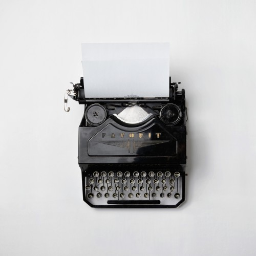 Image courtesy of Florian Klauer, https://images.unsplash.com/reserve/LJIZlzHgQ7WPSh5KVTCB_Typewriter.jpg?q=80&fm=jpg&s=4be877711cfd36096c15e0d04fa975f6.