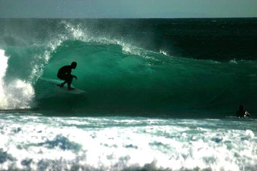 Surfing a Pipeline