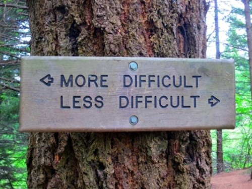 more_difficult_less_difficult_sign