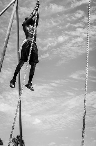 Climbing Rope photograph